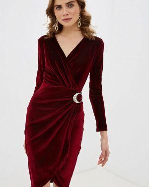 Вечернее платье бордовый красный Love Republic