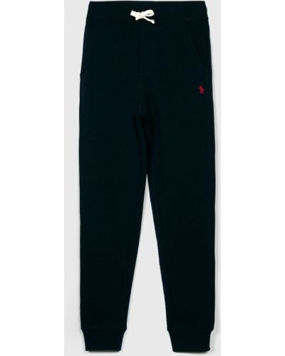 Spodnie bawełniane granatowe Polo Ralph Lauren