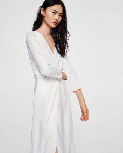 Белое платье летнее Mango