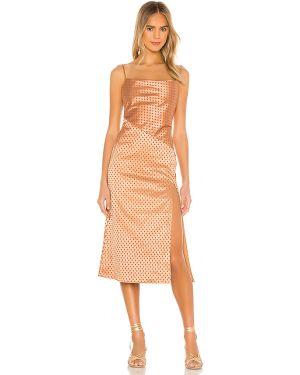 Sukienka dla wysokich kobiet z suwakiem Majorelle