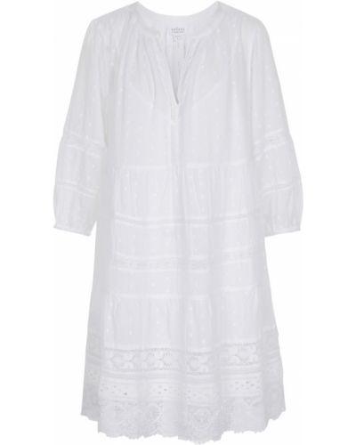 Кружевное бархатное ажурное платье на шнуровке Velvet