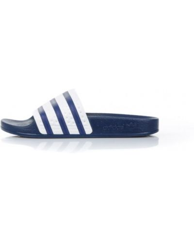 Niebieskie kapcie Adidas