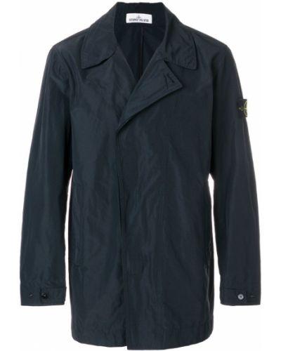Длинная куртка милитари Stone Island