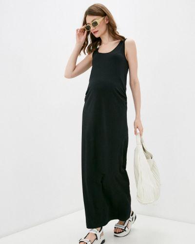 Черное платье-майка Mama.licious