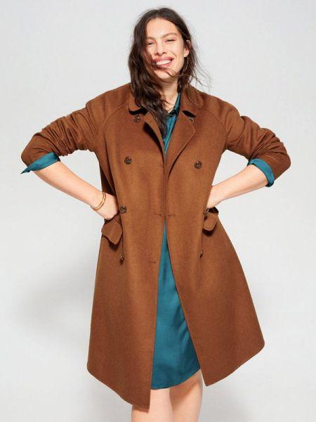 Пальто пальто двубортное Violeta By Mango