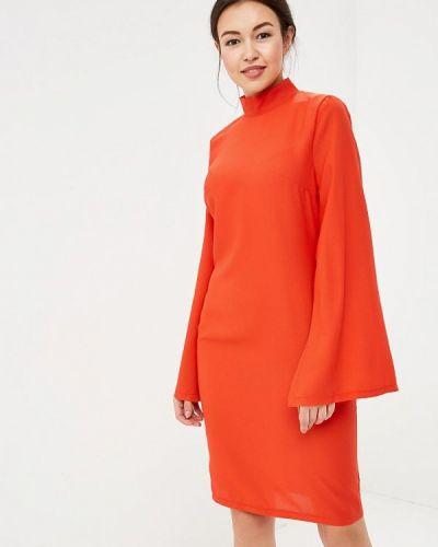 Прямое красное платье Tutto Bene