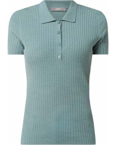 T-shirt z wiskozy - turkusowa Jake*s Collection
