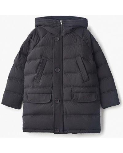 Куртка теплая черная Ea7