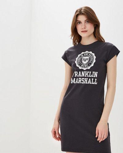 Серое платье Franklin & Marshall