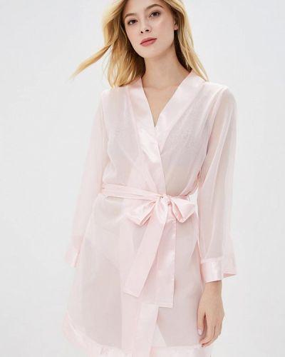 Розовый халат Bluebella
