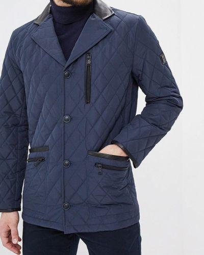 Утепленная куртка демисезонная синяя Gt Gualtiero