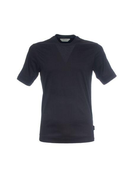 Czarna t-shirt Ermenegildo Zegna