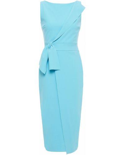 Платье с запахом - бирюзовое Chiara Boni La Petite Robe