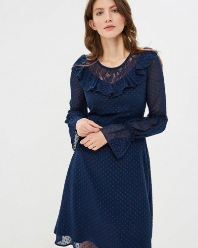 Платье синее Yumi