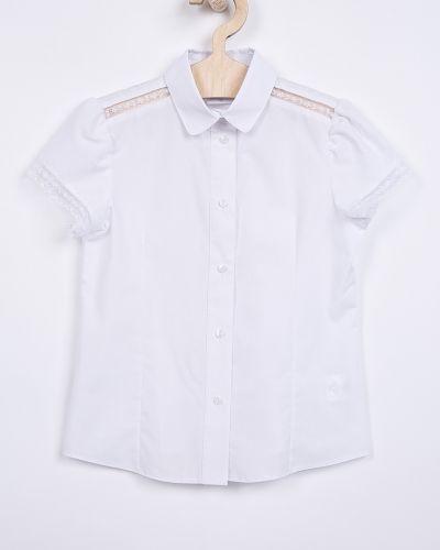 Блуза длинная с воротником Sly