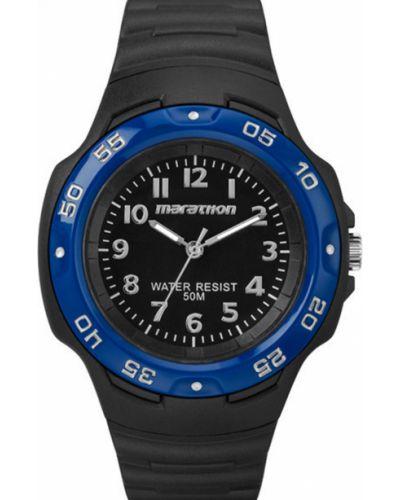 Часы водонепроницаемые универсальный синий Timex