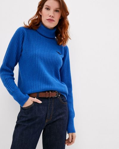 Синий свитер Aeronautica Militare