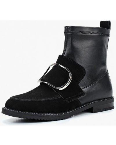 Кожаные ботинки осенние резиновые Keddo
