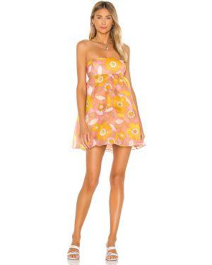 Sukienka z suwakiem różowa Selkie