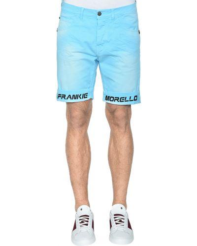 Голубые шорты Frankie Morello
