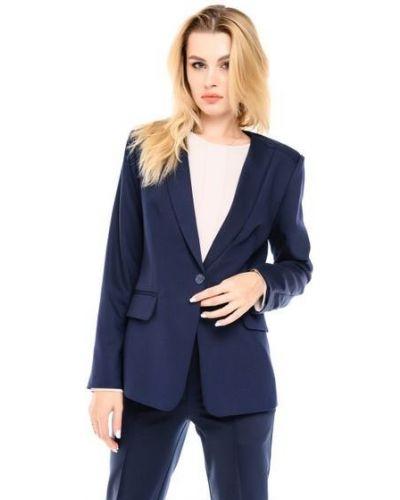 Пиджак удлиненный - синий Alito
