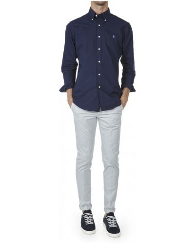 Niebieska koszula Ralph Lauren