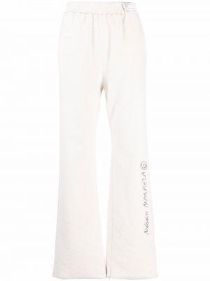 Spodnie z wysokim stanem Mm6 Maison Margiela