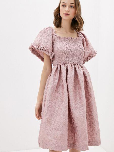 Вечернее платье розовое весеннее Sister Jane