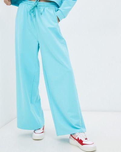 Голубые спортивные брюки Elena Andriadi