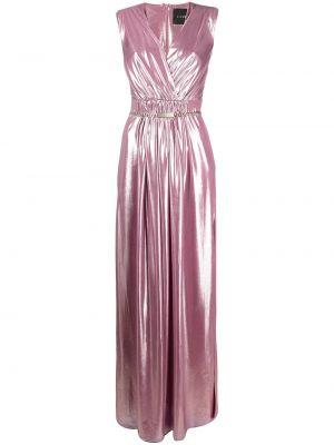 Платье макси длинное - розовое John Richmond