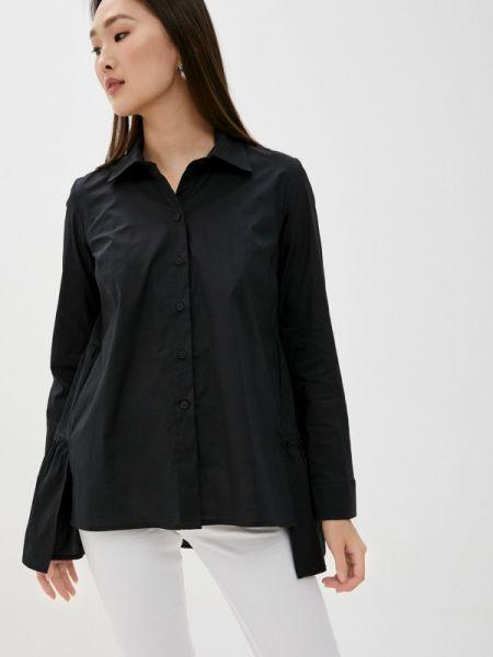 Черная блузка с длинным рукавом Blugirl Folies