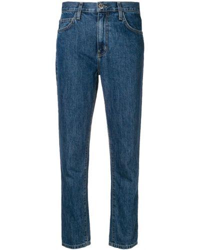 Укороченные джинсы на пуговицах с карманами Current/elliott