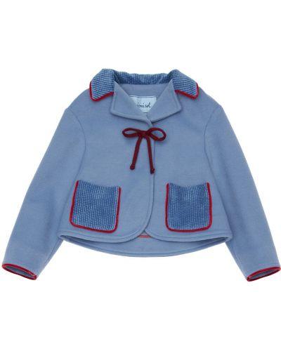 Пиджак стрейч с лацканами на кнопках Mi.mi.sol.