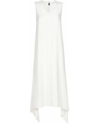 Платье из вискозы - белое Joseph