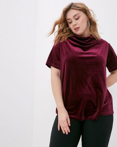Красная блузка с короткими рукавами Svesta