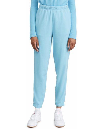Niebieskie spodnie bawełniane Atm Anthony Thomas Melillo