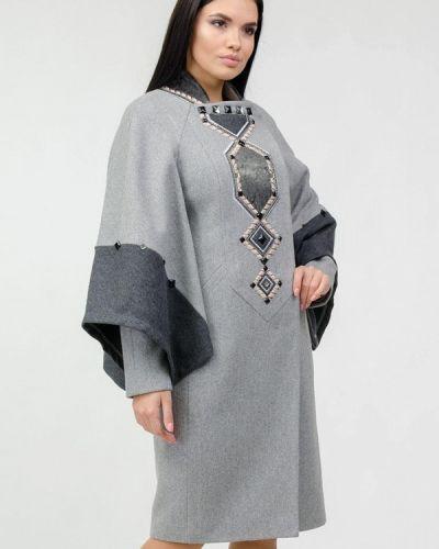 Серое пальто Raslov