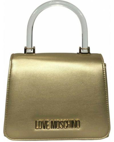Kopertówka - żółta Love Moschino
