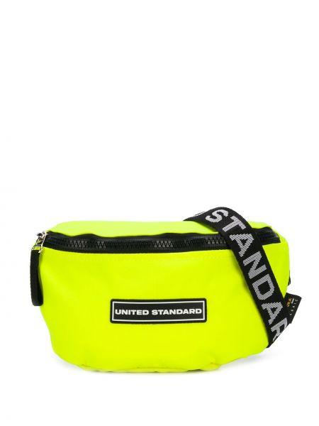 Pasek z paskiem - żółty United Standard