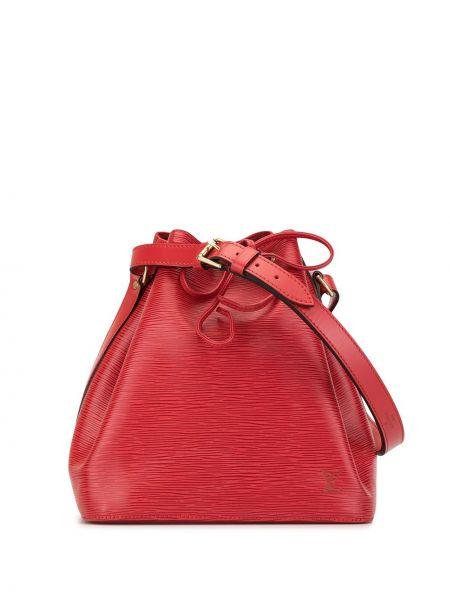 Skórzana torebka rama zamsz Louis Vuitton Pre-owned