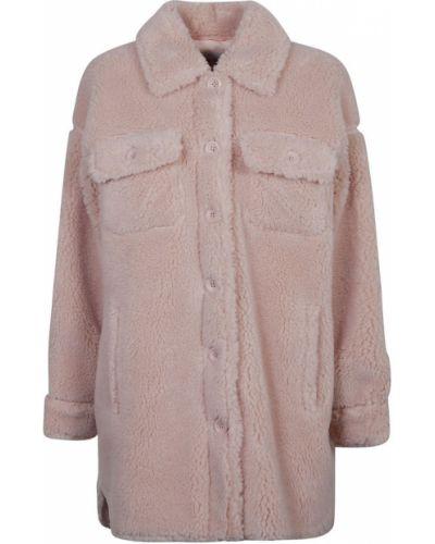 Różowy płaszcz Stand Studio