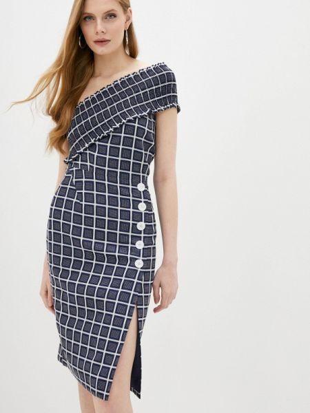 Платье - синее Three Floor