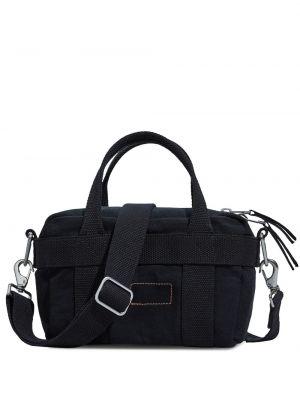 Czarna torebka mini bawełniana Calvin Klein 205w39nyc