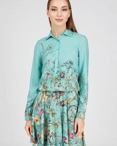 Платье - бирюзовое Serginnetti