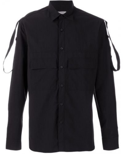Рубашка с погонами Lanvin
