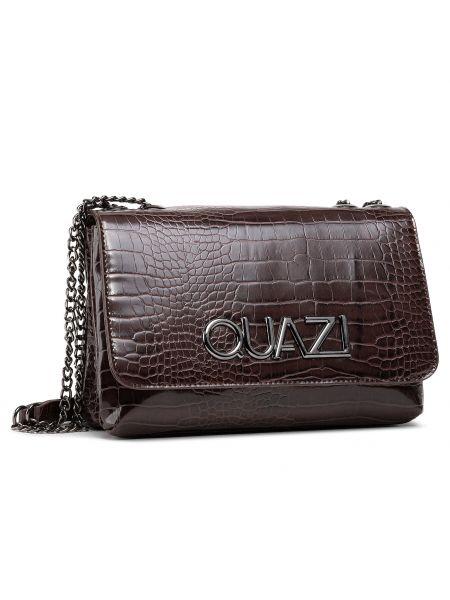 Brązowa torebka casual Quazi