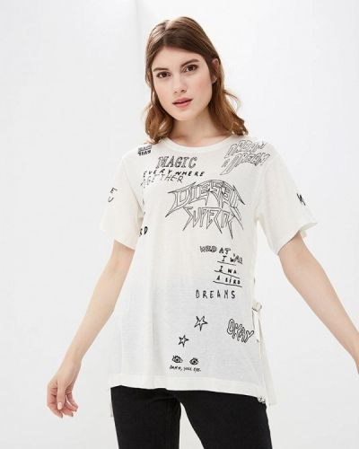 Белая футболка 2019 Diesel