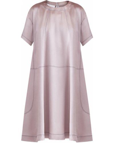Платье мини с оборками спортивное Valentino