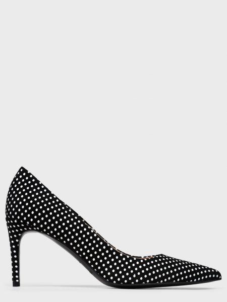 Кожаные туфли - черные Helena Soretti