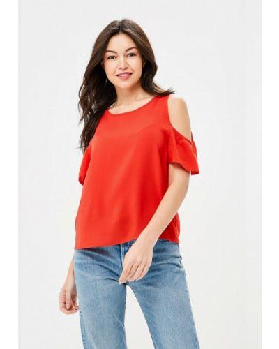 Красная блузка с открытыми плечами Befree